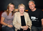 Jackie Rainey with Moya Rooney and John at our 15th birthday celebrations